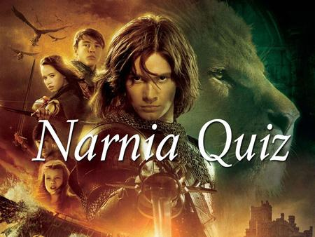 2 Which of the Pevensie children is the first to enter Narnia in The Lion, The Witch and the Wardrobe? Lucy.