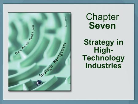 Chapter Seven Strategy in High- Technology Industries.