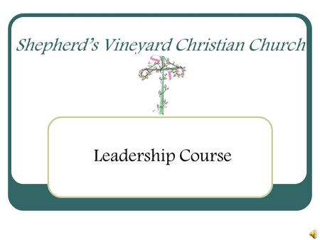 Shepherd's Vineyard Christian Church