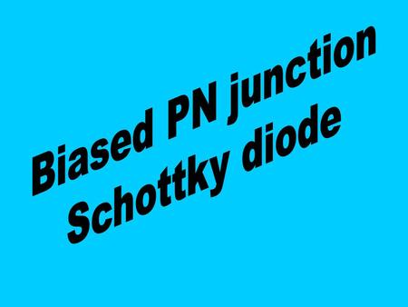 Reverse biased PN junction p n p n Reverse biased PN junction energy diagram.
