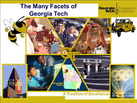 November 2002 The Many Facets of Georgia Tech A Tradition of Excellence.