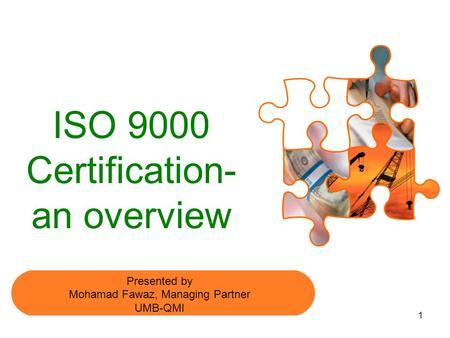 ISO 9000 Certification- an overview