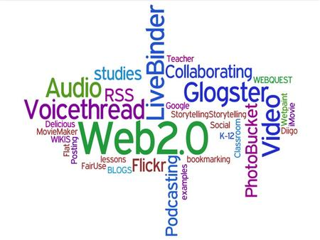 Impact Learning with Web 2.0 Tools We teach digital natives…..