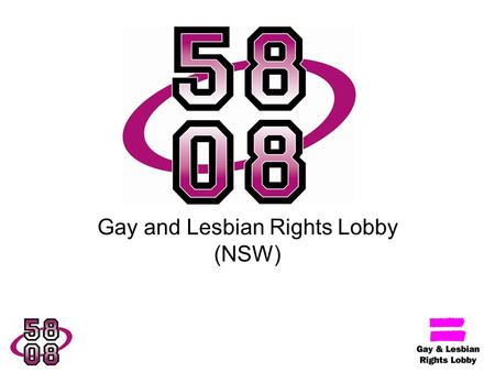 Gay and Lesbian Rights Lobby (NSW). Overview of Presentation Campaign background and context Elements of the campaign Campaign strengths Campaign limitations.