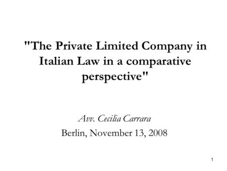 italian private law An italian lawsuit is a civil action brought in an italian court in which a plaintiff ( called 'attore') demands a legal remedy for a loss resulting from.