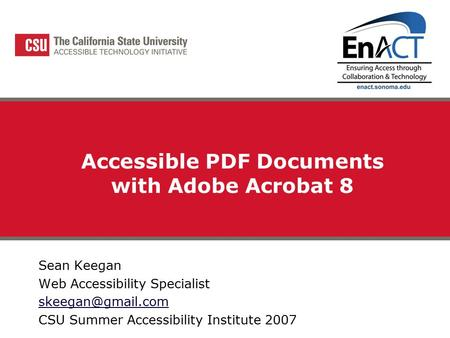 Preliminary evaluation results a discussion with the for Accessible pdf documents