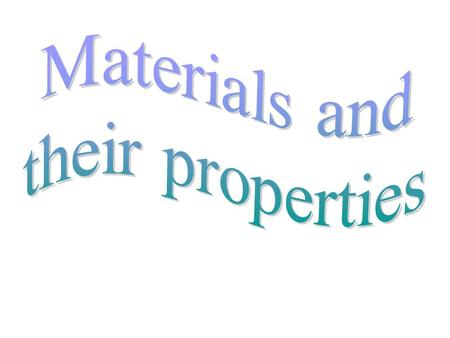 Materials that we use in everyday life are usually classified into three categories. They are: Solids Liquids Gases.