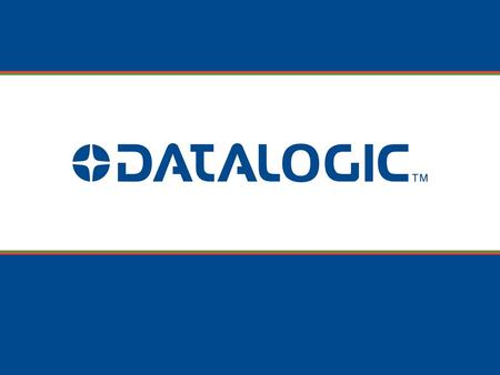 © 2008-2009 Datalogic Scanning - Confidential Information PowerScan ® PM8300-DK.