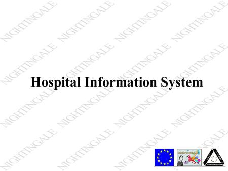 Hospital Information System. Hospital Information System Definition Hospital Information System is an integrated, computer-assisted system designed to.