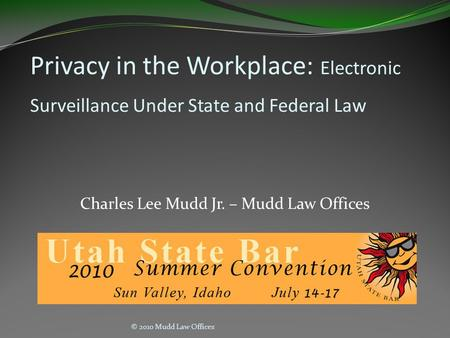 Employee privacy rights in the workplace