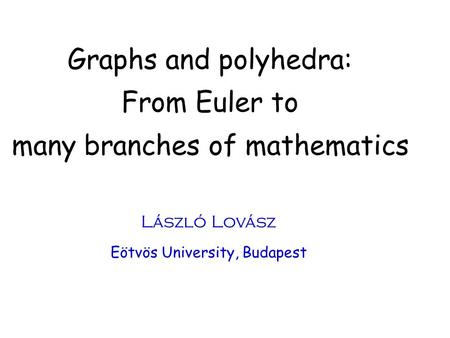 many branches of mathematics