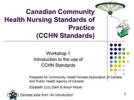 Workshop 1 Introduction to the use of CCHN Standards