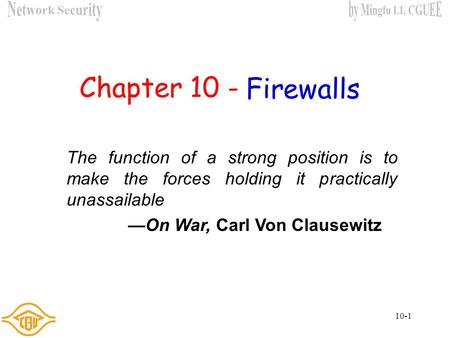 —On War, Carl Von Clausewitz