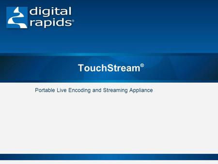 Portable Live Encoding and Streaming Appliance
