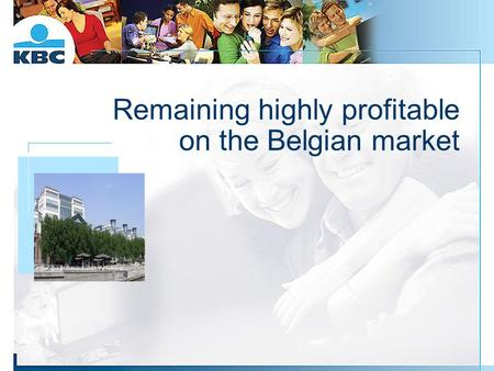 Remaining highly profitable on the Belgian market Foto gebouw.