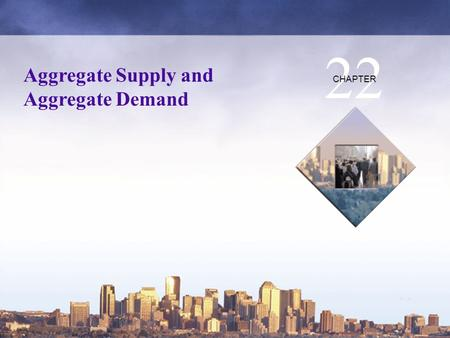 Copyright © 2006 Pearson Education Canada Aggregate Supply and Aggregate Demand 22 CHAPTER.