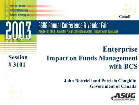 Enterprise Impact on Funds Management with BCS
