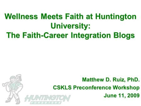 Faith Leader Mental Health Integration