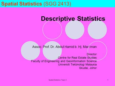 descriptive statistics in real estate A descriptive analysis of the _   , t k i - r -   l ^ t%/r 1 j steven p laposa  retail real estate markets at the metropolitan level^ abstract.