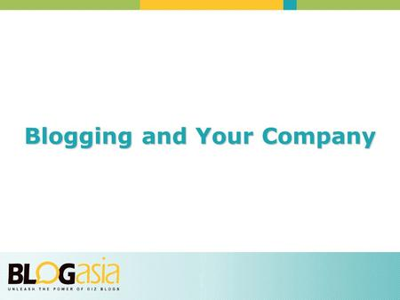 Blogging and Your Company. Employee Blogs: How a corporation can get its employees blogging and why it should.