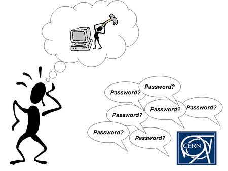 Password?. Project CLASP: Common Login and Access rights across Services Plan
