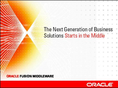 Oracle Fusion Middleware  What does SOA mean to you?  What is SOA?  Where does the rubber meet the road?