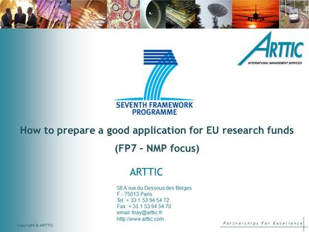 How to prepare a good application for EU research funds