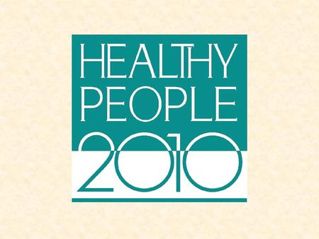 Purpose of the Meeting Insert Title of Meeting and Date Provide an overview of Healthy People 2010 and the Leading Health Indicators Discuss approaches.