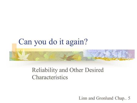 Reliability and validity in qualitative research ppt