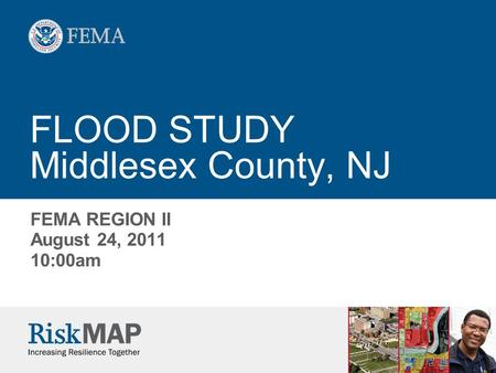 FLOOD STUDY Middlesex County, NJ