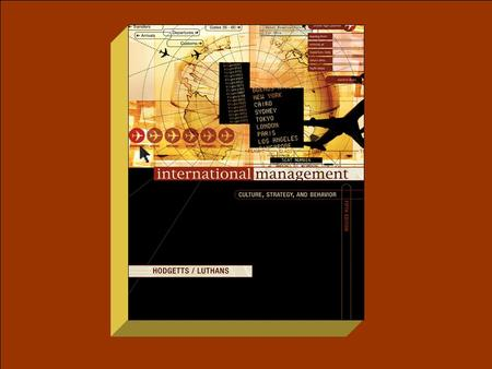 International Management, 5th ed.