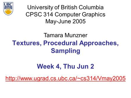 ubc cs thesis archive The university of british columbia master's student martin lesmana was recognized for his thesis at the 25th canadian department of computer science.