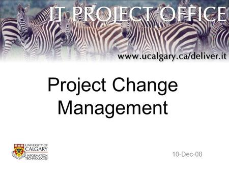 Project Change Management