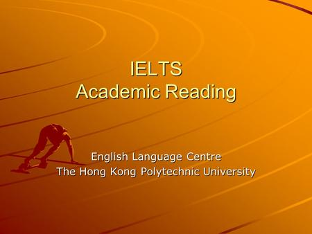 IELTS Academic Reading