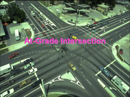 At-Grade Intersection