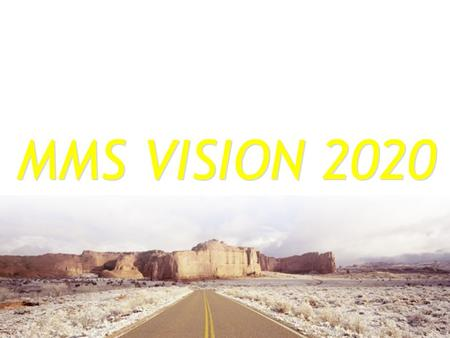 MMS VISION 2020. INTRODUCTION Methodist Missions Society (MMS) instituted in September 1991 as the missions agency of The Methodist Church in Singapore.