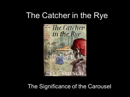 an analysis of the question can holden relate to modern day teens in the catcher in the rye by jd sa