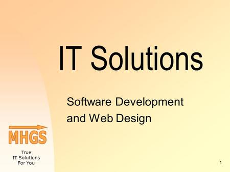 True IT Solutions For You 1 IT Solutions Software Development and Web Design.