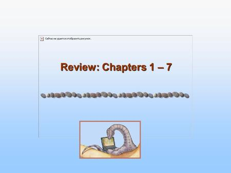 Review: Chapters 1 – 7. 1.2 Chapter 1: OS is a layer between user and hardware to make life easier for user and use hardware efficiently Control program.