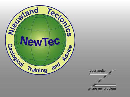 NewTec International Exploration and Production Support NewTec International BV. is specialized in geological advice and training for exploration and.
