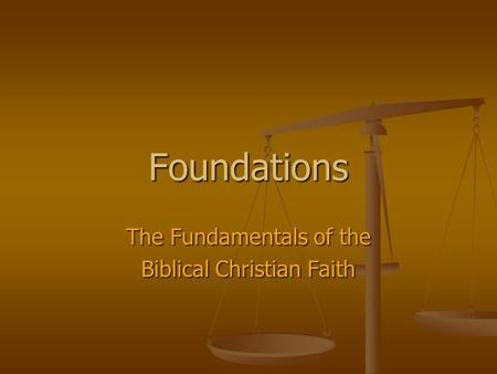 foundational to the christian faith is Drawing form six decades of scripture-based teaching and study in the original greek and hebrew, the late derek prince clearly explains the foundations for christian.