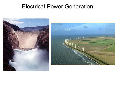 Electrical Power Generation. How Does an Electric Generator Work? Rotating turbine attached to an electrical generator, a wire coil. Free electrons moving.