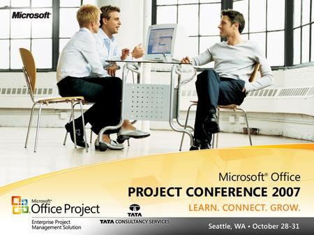 © 2006 – 2007 TPG America The Project Group Slide 2 Leveraging Your Most Valuable Investments MS Project and SAP … Communication Made Easy Microsoft Office.