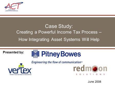 income tax case study pdf