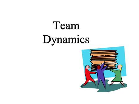 Team Dynamics. Teams What is a team? What makes a team effective? What makes a team defective? Why teams? Stages of team/group development.