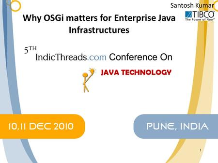 Why OSGi matters for Enterprise Java Infrastructures