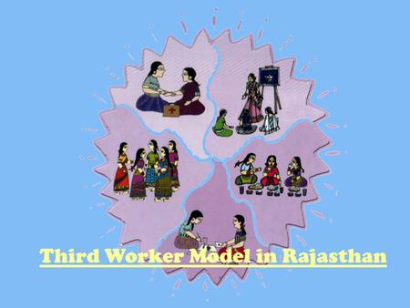 Third Worker Model in Rajasthan. Status of child health: Rajasthan Of 1000 children born in Rajasthan, 115 died before age five Of these 75 died in the.