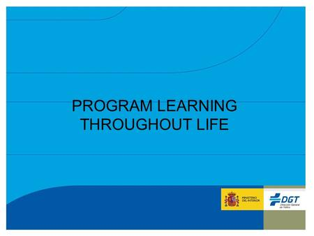 PROGRAMA DE APRENDIZAJE PERMANENTE GRUNDTVIG PROGRAM LEARNING THROUGHOUT LIFE.