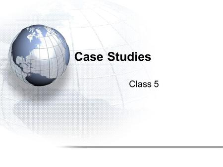 Case Studies Class 5. Computational Chemistry Structure of molecules and their reactivities Two major areas –molecular mechanics –electronic structure.