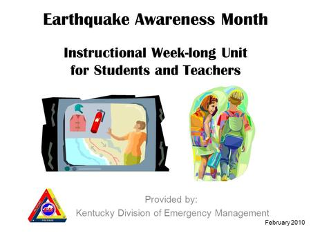 Provided by: Kentucky Division of Emergency Management